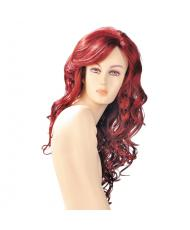 Dareen Red Wavy Long Wig