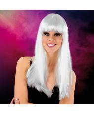 Cabaret Wig White Long