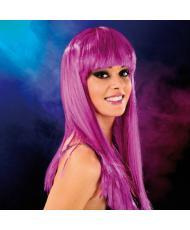 Cabaret Wig Purple Long