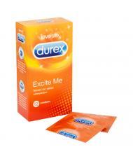 Durex Excite Me 12 Pack Condoms