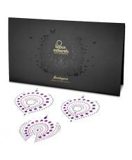 Bijoux Indscrets Flamboyant Body Jewelery Purple And Pink
