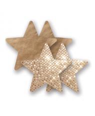 Nippies Pasties  Gold Super Star