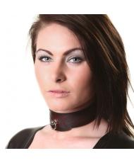 House Of Eros Dark Red Flame Collar